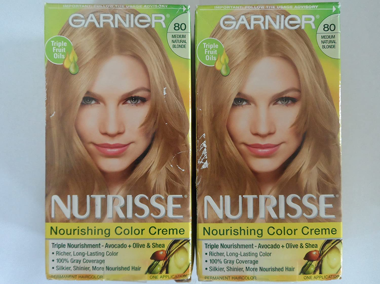 Amazon Garnier Nutrisse Haircolor 80 Butternut Medium
