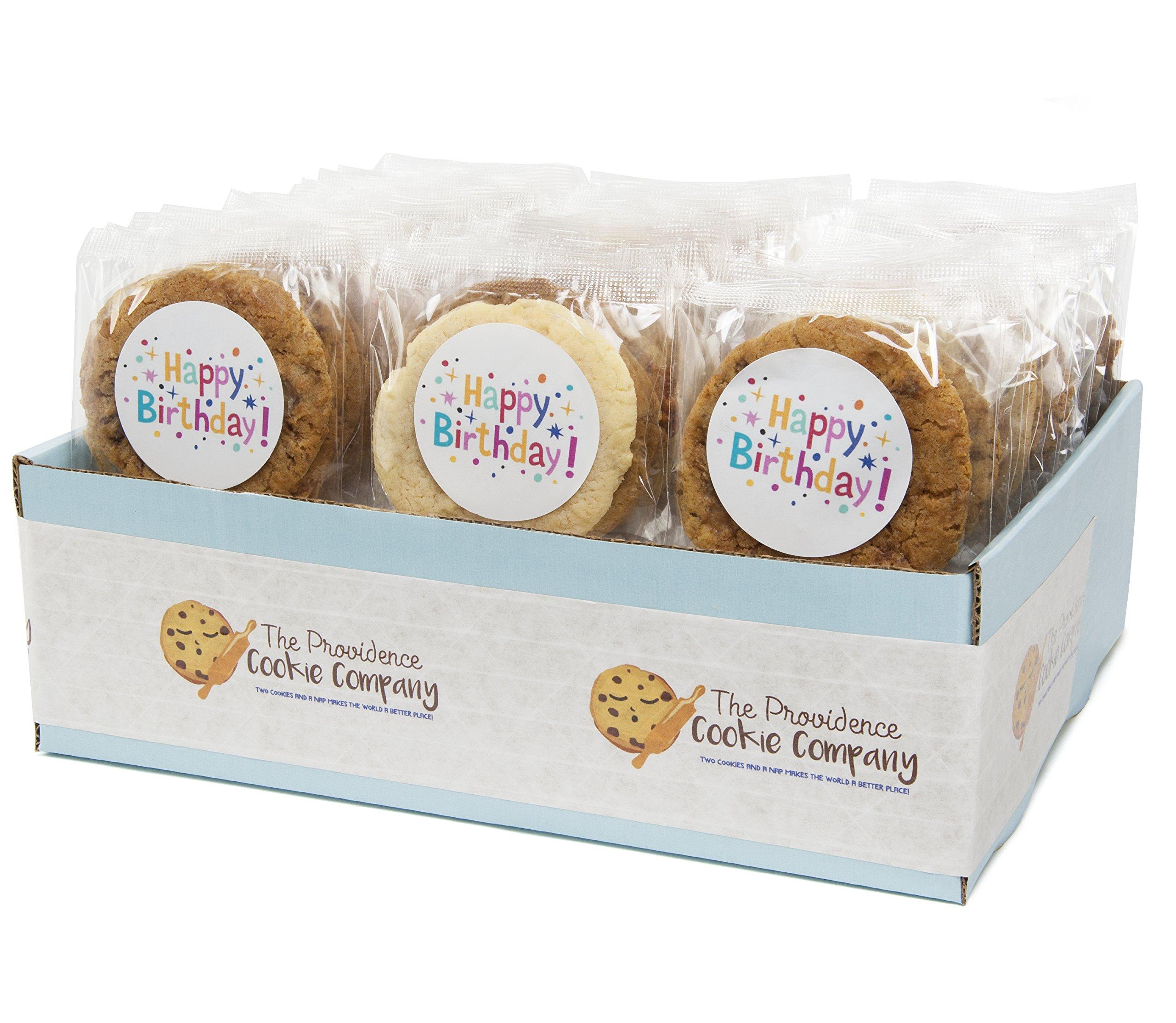 The Providence Cookie Company HAPPY BIRTHDAY GOURMET COOKIE GIFT choose 1, 2, 3 or 4 Dozen (4 Dozen)