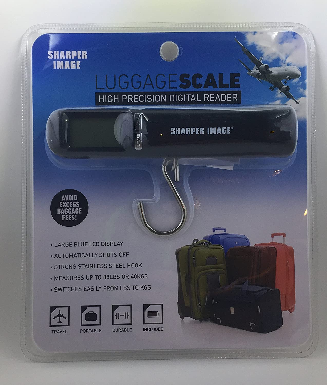 Amazon.com: The sharper image luggage scale - High precision digital ...