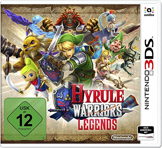 Nintendo Hyrule Warriors Legends Nintendo 3ds Deu Eng Esp Fre Ita