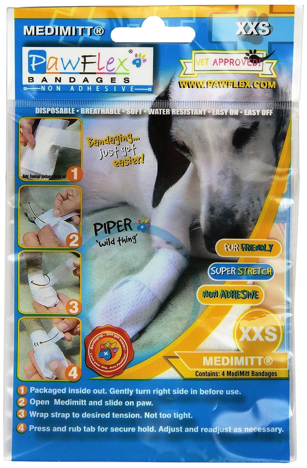 PawFlex Bandages Medimitt BandagesPets (Pack of 4) ROM001 2XSmall - 1