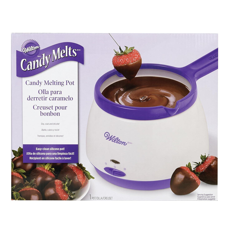 Amazon Com Wilton Candy Melts Candy Melting Pot Kitchen Dining