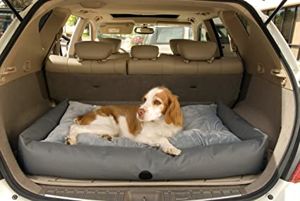 KH Pet Products Travel SUV Bed Large Gray 30quot