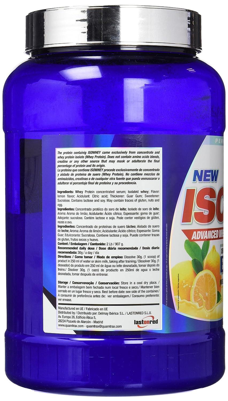 Quamtrax Nutrition QTX0300, Suplementos de Proteínas con Aroma de Limón, 907 gr: Amazon.es: Salud y cuidado personal