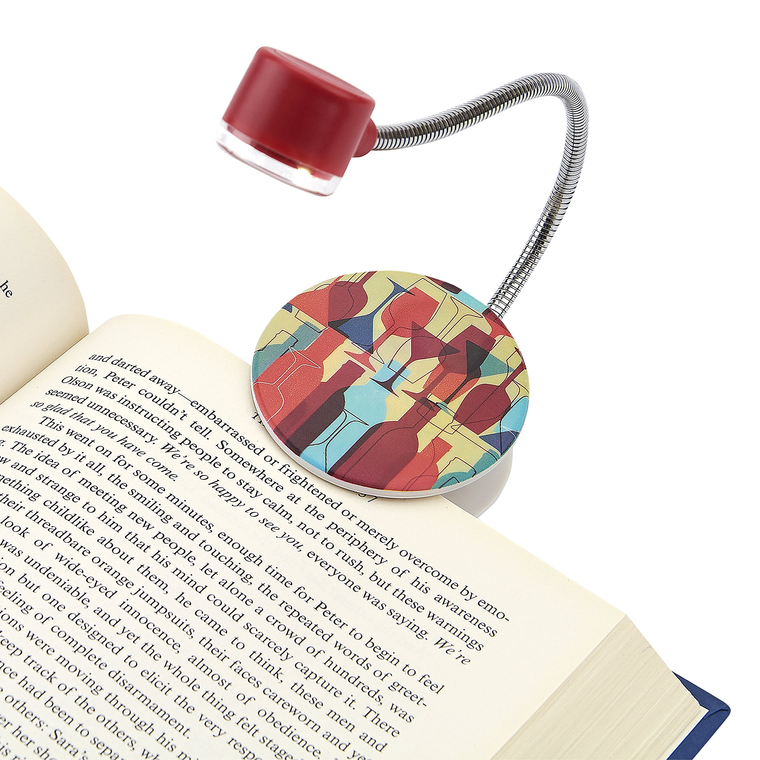 Carson Wine LumiFlex LED Lighted Book Light by Carson (Image #3)