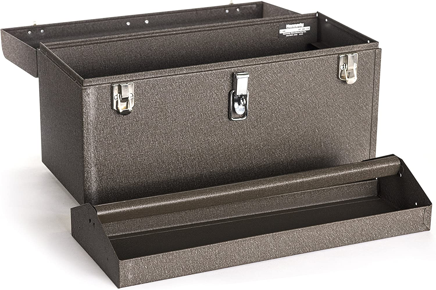Tan Brown Wrinkle Kennedy Manufacturing 620B 20 3-Drawer Machinists Steel Tool Storage Chest