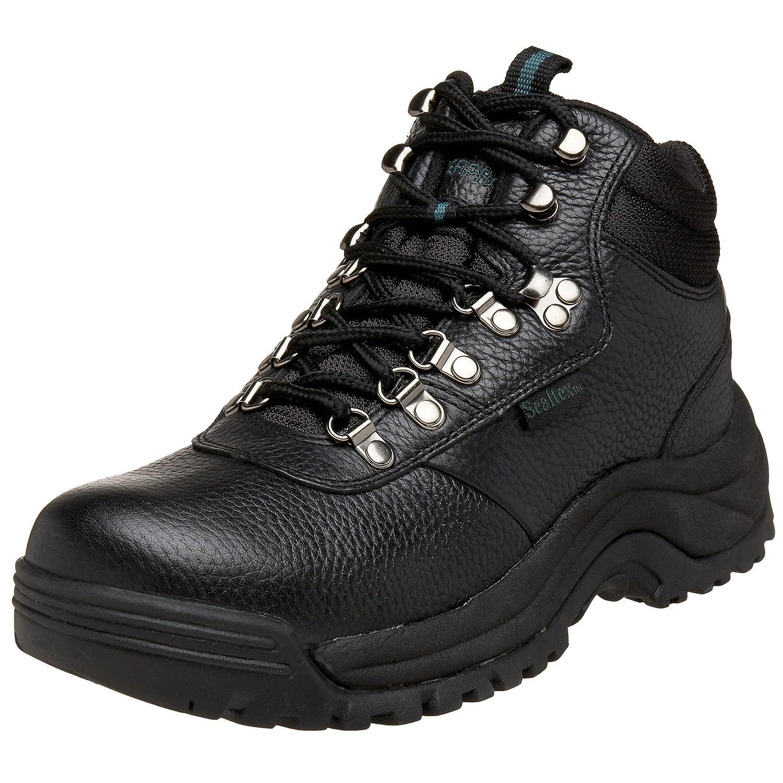 Propét Mens Cliff Walker Closed Toe Leather Fashion Boots B000WUNHMG 15 D(M) US ブラック ブラック 15 D(M) US