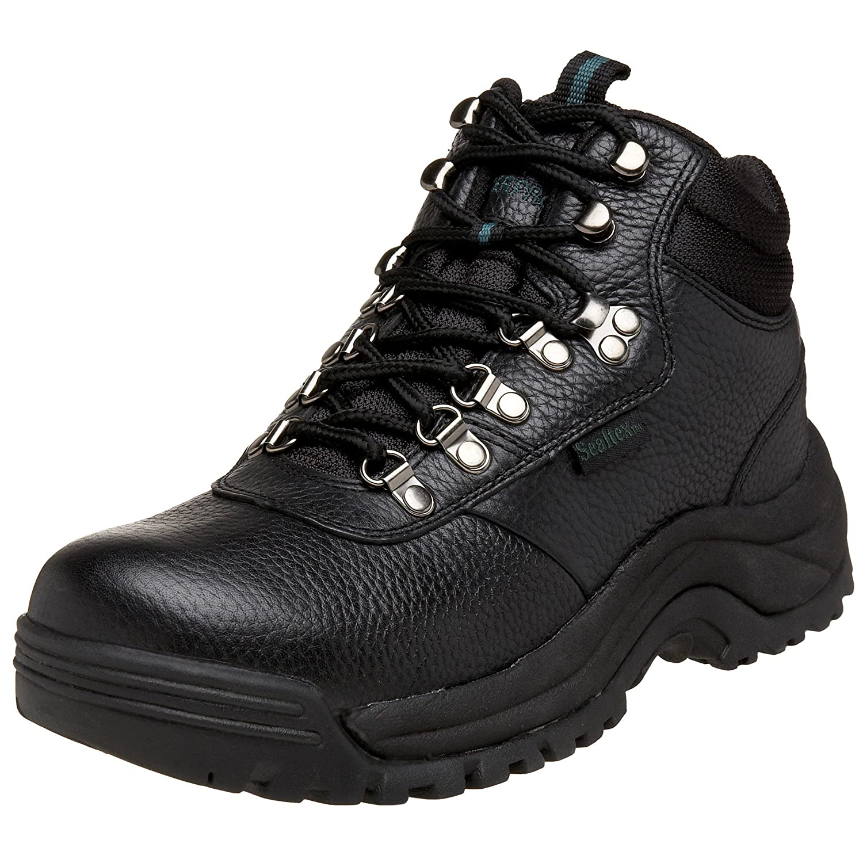 Propét Mens Cliff Walker Closed Toe Leather Fashion Boots B073PKYCGS  ブラック 16 E(W)