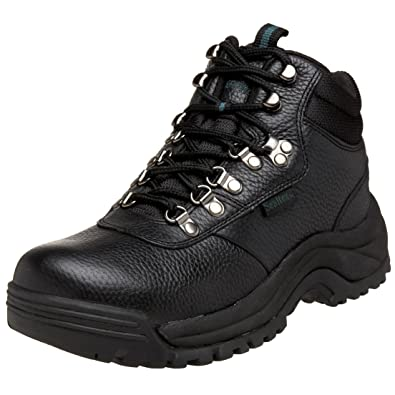 Propet Men's Cliff Walker Boots 3E(X) Black Men's Shoe 8 3E(X) M3188-8.0 B 3E(X)