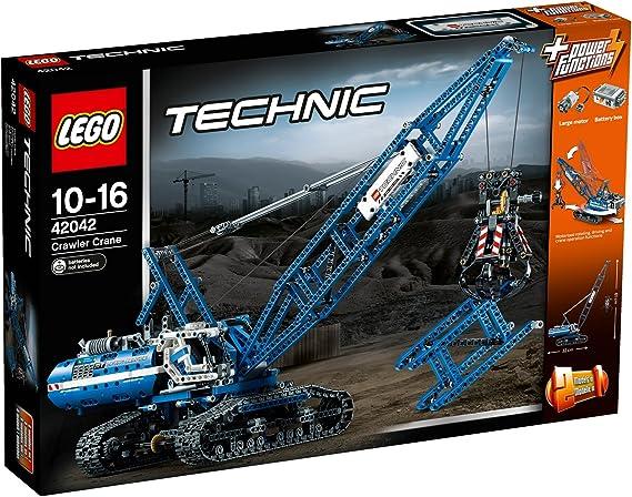 LEGO 42042 - Grúa móvil, multicolor: Amazon.es: Juguetes y juegos