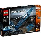 LEGO Technic - 42042 - Jeu De Construction - La Grue Sur Chenilles