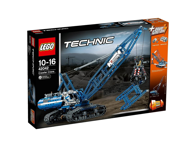 レゴ (LEGO) テクニック クローラークレーン 42042   B00SDTS37M