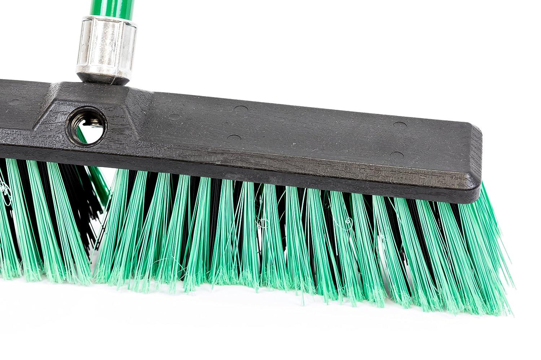 Stiff Outdoor Yard Sweeping Brush Heavy Duty Garden Broom Sweeper ...