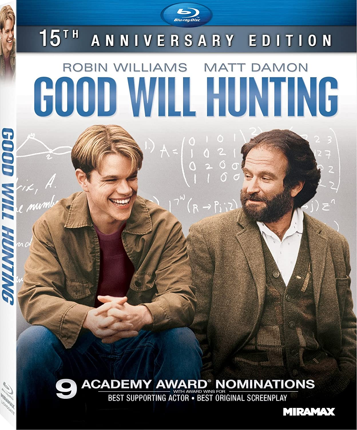 Amazon Com Good Will Hunting 15th Anniversary Edition Blu Ray