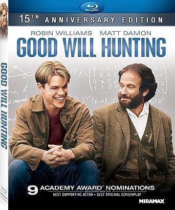 Amazon Com Good Will Hunting 15th Anniversary Edition Blu Ray