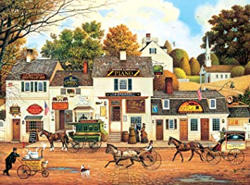 833fdfa20076d Image Unavailable. Image not available for. Colour  Buffalo Games - Charles  Wysocki - Olde Cape Cod - 1000 Piece Jigsaw Puzzle