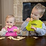 Silicone Baby Bibs Comfortable Soft Waterproof