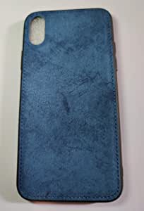New Fabric Ultra-thin canvas Silicon Phone case For iPhone X 10 color blue texture Soft Protective cover
