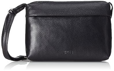 Bree Estada New 5, Black, Ladies' Handbag GR, Sacs Bandoulière Femme 27x18x7 cm (B x H x T)