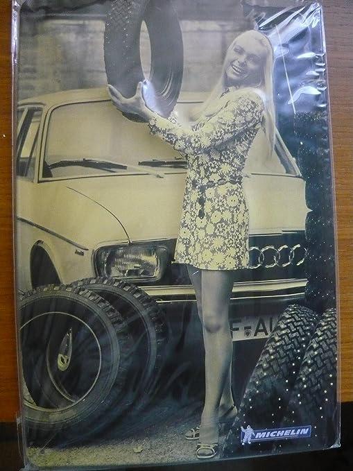 Cartel de chapa - Motor Sport - Neumáticos - Michelin ...