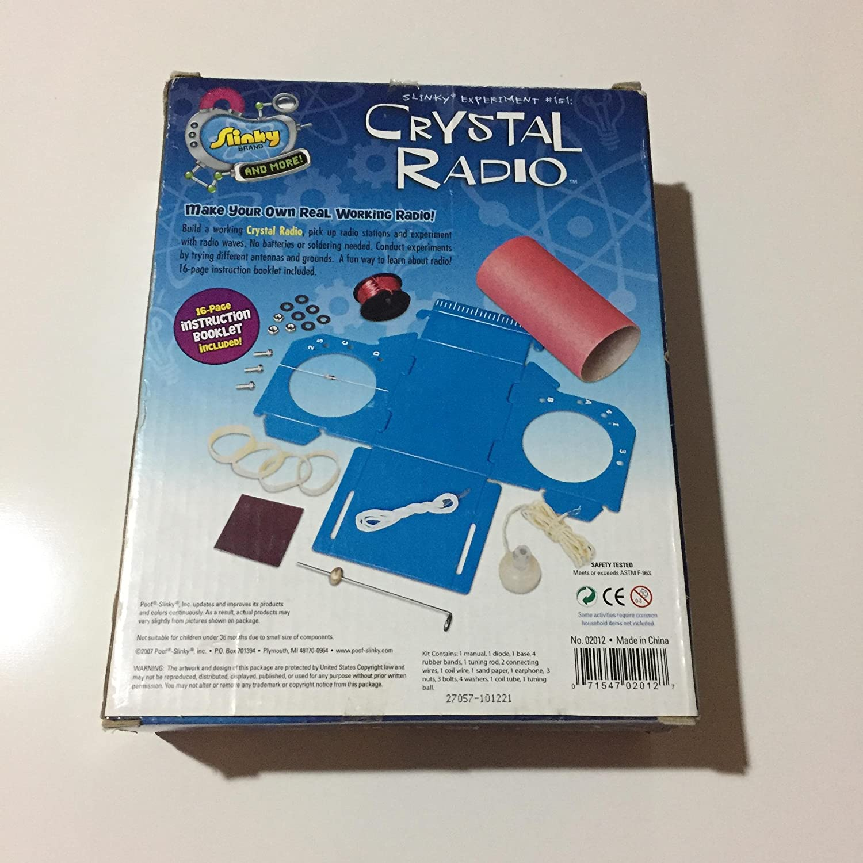 Shop poof-slinky crystal radio kit 322 g online in riyadh, jeddah.