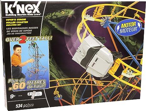 Knex - Gran Montaña Rusa, Juego de construcción (41158): Amazon ...