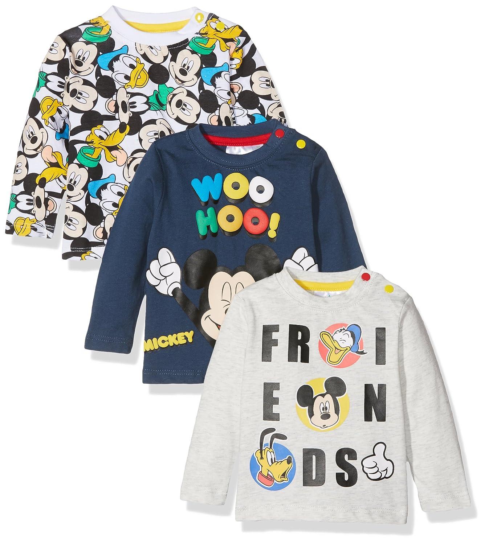 FABTASTICS Disney, T-Shirt Bimbo (Pacco da 3) 160693