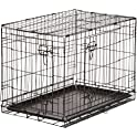 AmazonBasics Single / Double Door Folding Dog Crate