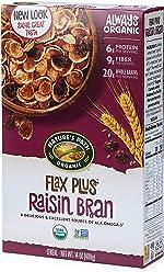 Nature's Path Flax Plus Raisin Bran Cereal, Healthy, Organic, 14 Ounce
