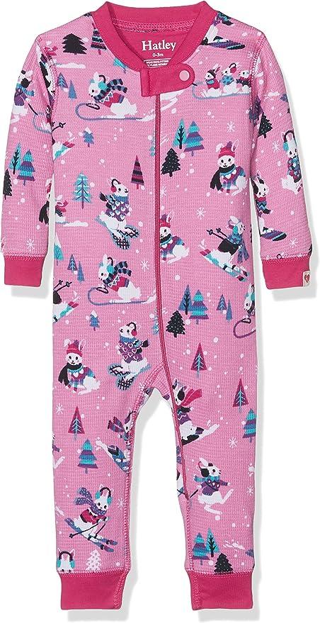Hatley Organic Cotton Footed Sleepsuit Pelele para Dormir para Beb/és