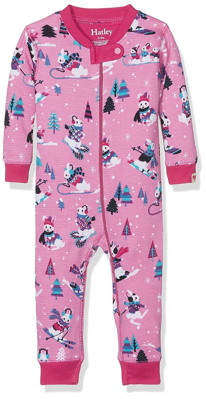 Hatley Baby Girls' Sleepsuit DR9WIRA217