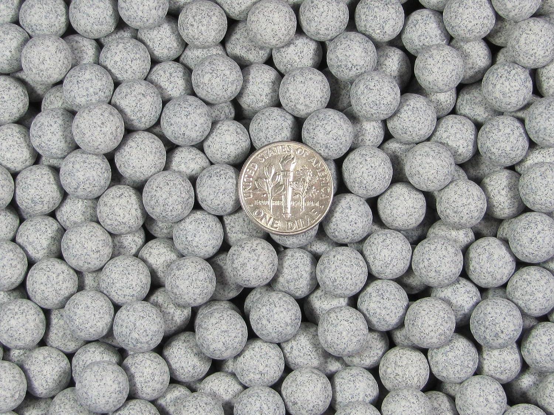 9 mm Fast Cutting Sphere Aggressive Ceramic Porcelain Tumbling Tumbler Tumble Media 2 Lb