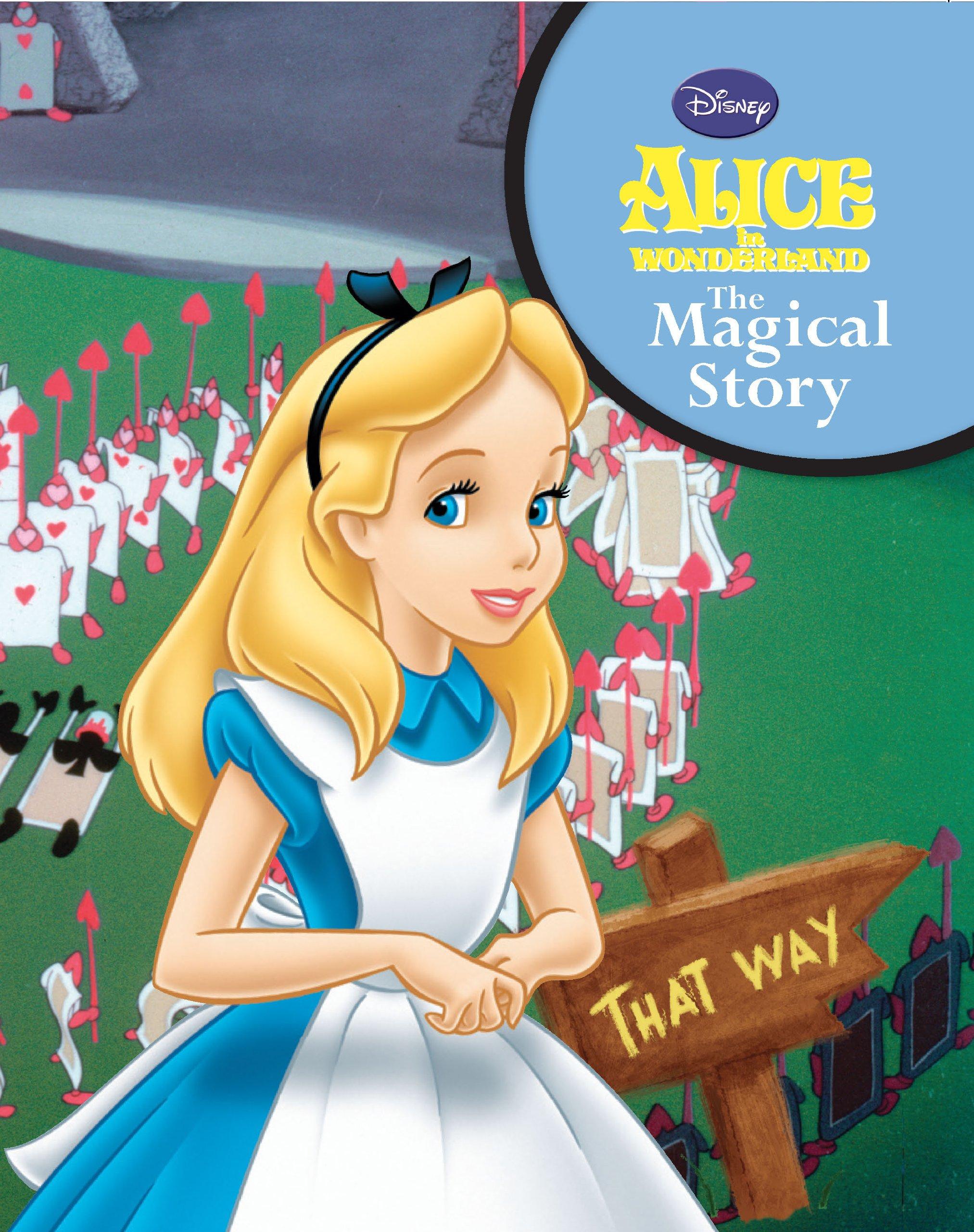 Alice In Wonderland Book Cover Ideas ~ Disneys alice in wonderland: parragon books: 9781407587608: amazon