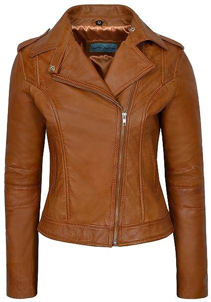 giacca pelle vera donna