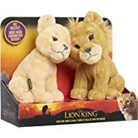 Lion King Touching Heads Plush Simba & Nala
