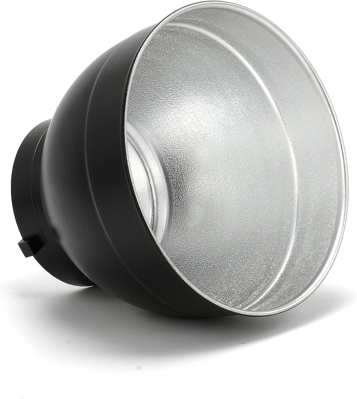 JSAG413 Julius Studio Professional Photography Studio Strobe Light Reflector Lamp Dish with Soft White Diffuser Cover Sock