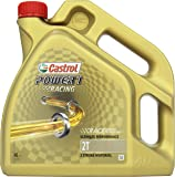 Castrol Power 1 Racing Aceite de Motores 2T 4L (Sello inglés)