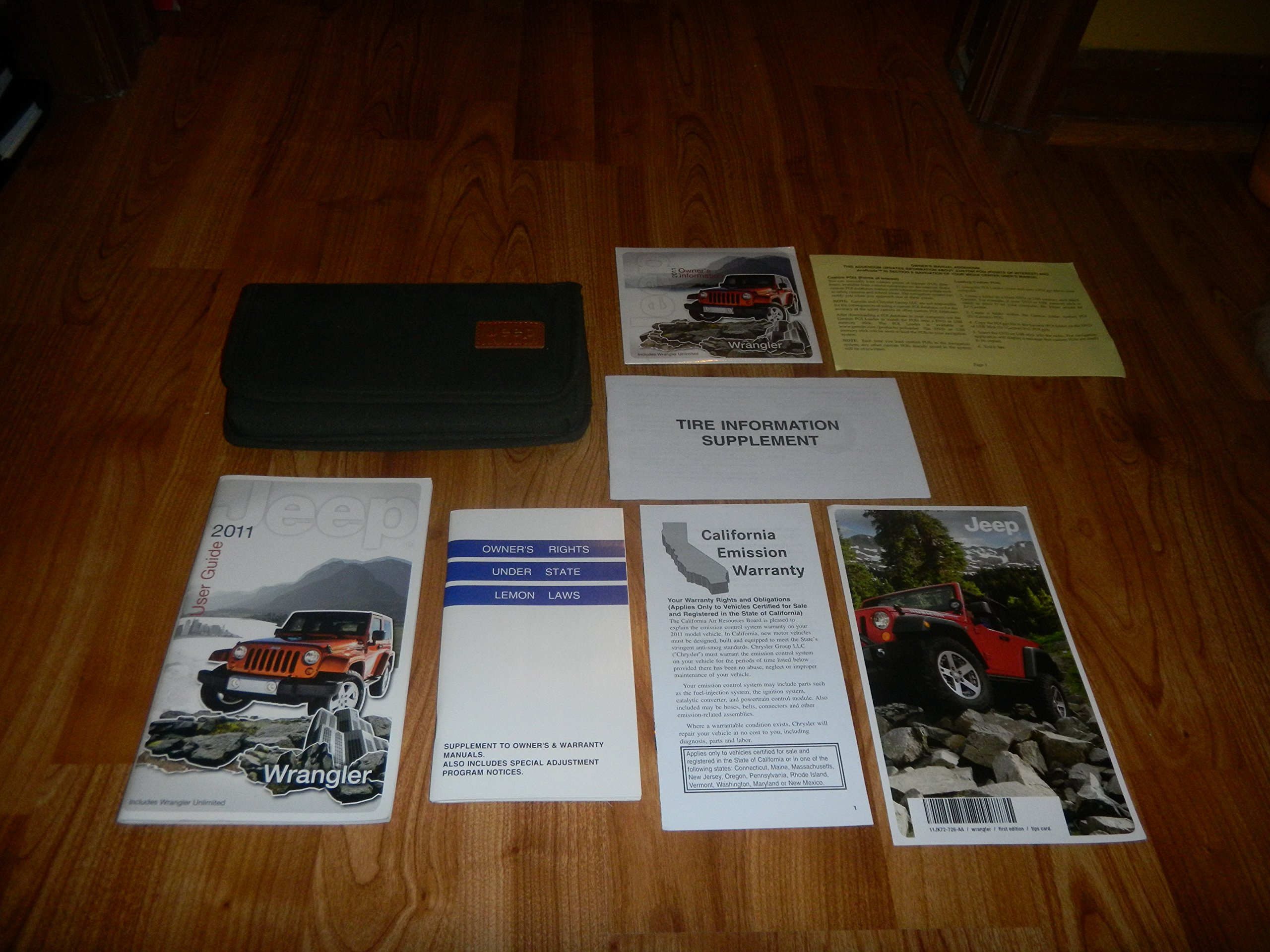 2011 jeep wrangler owners manual dvd