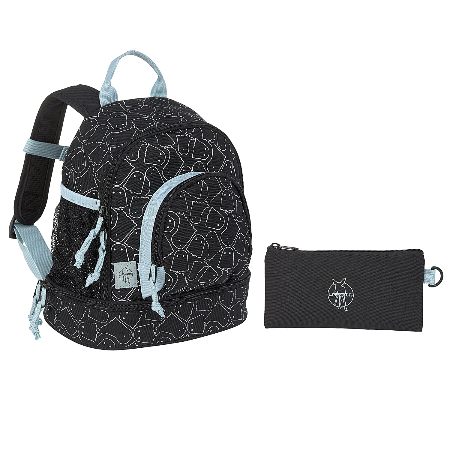 Lässig Mini Backpack Kinderrucksack/Kindergartentasche Spooky rosa 1203001826