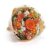 Bouquet-Garden- Sanremo fiori essiccati dalla Riviera dei Fiori con rosa stabilizzata