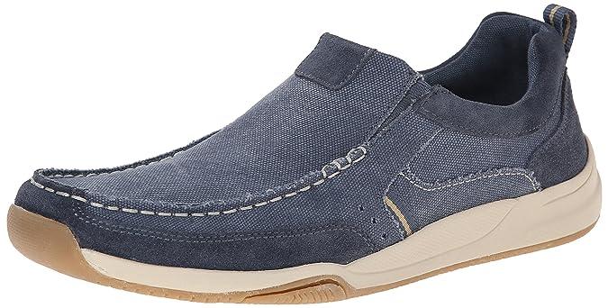 Dr. Scholl's Men's Hughes Boat Shoe, Steel Blue, 10 M US: Amazon.co.uk:  Shoes & Bags