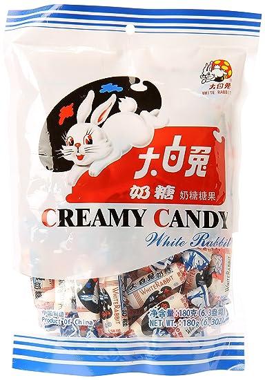 b3780f49975c1 Amazon.com   White Rabbit Creamy Candy 6.3 Oz (180 Gram)   Taffy ...