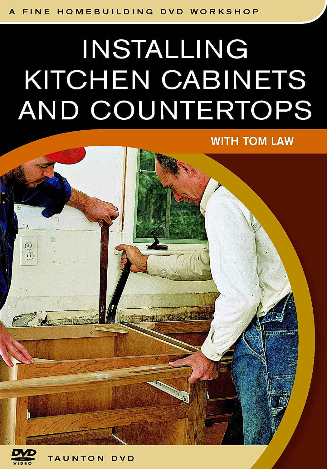 Installing kitchen cabinets and countertops with tom law - Amazon Com Installing Kitchen Cabinets And Countertops With Tom Law Tom Law Movies Tv