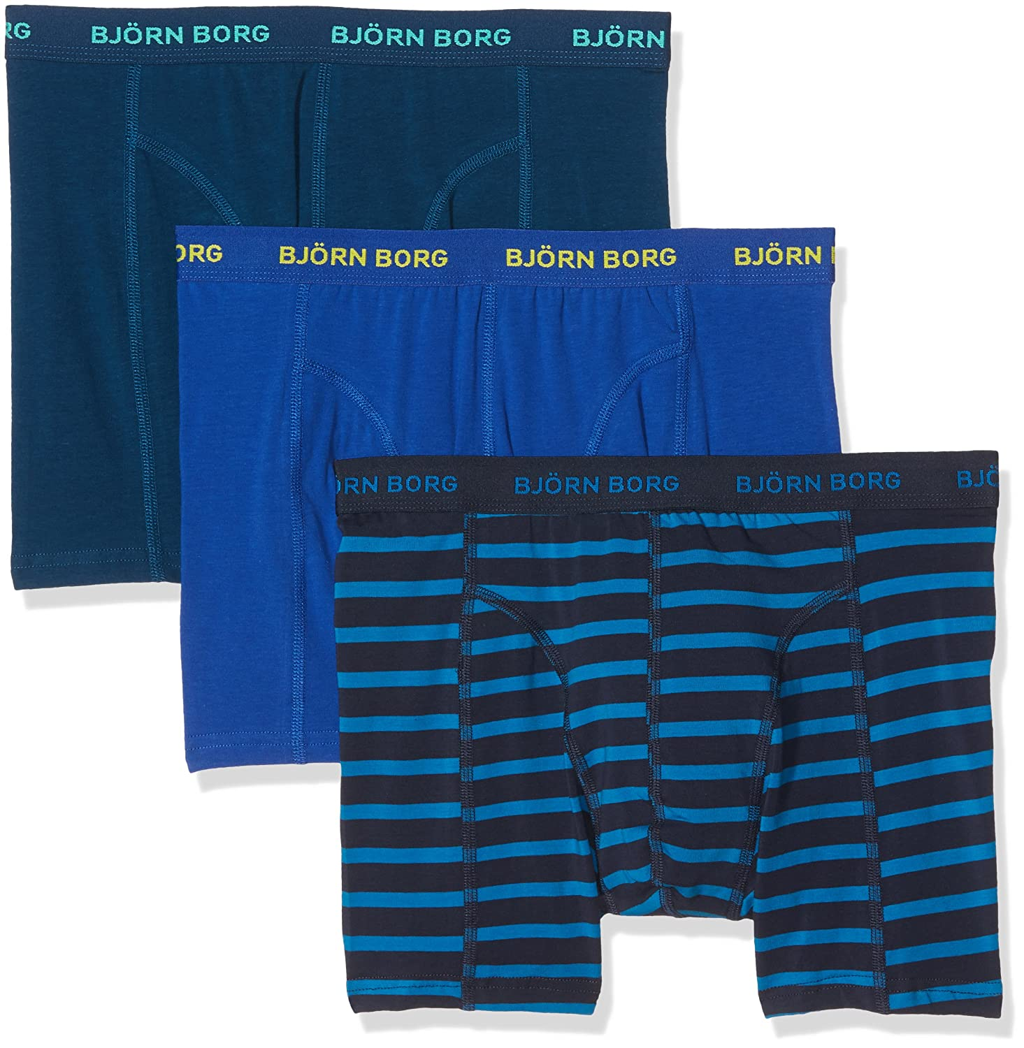 Björn Borg Men's Boxer Shorts (Pack of 3) Bjorn Borg