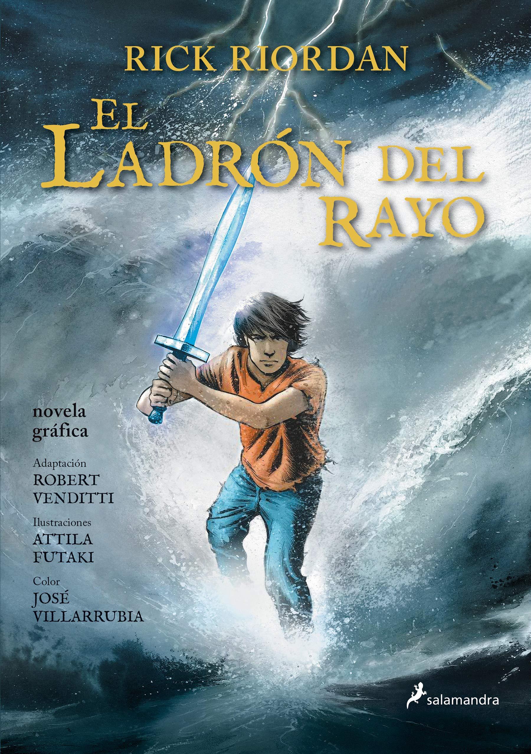 El ladrón del rayo Percy Jackson y los dioses del Olimpo novela gráfica 1 : Percy Jackson y los Dioses del Olimpo I: Amazon.es: Riordan, Rick: Libros