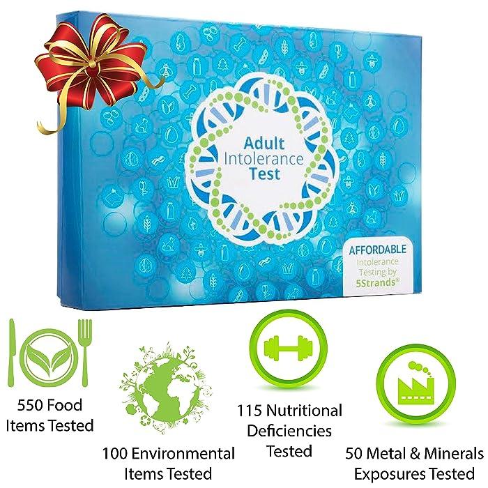 5Strands   Food & Environmental Intolerance   Nutritional Deficiencies   Metal & Mineral Exposure   Test 815 Total Items   Hair Analysis   Results in 1-2 Weeks   Home Test Kit   Adult Deluxe Test