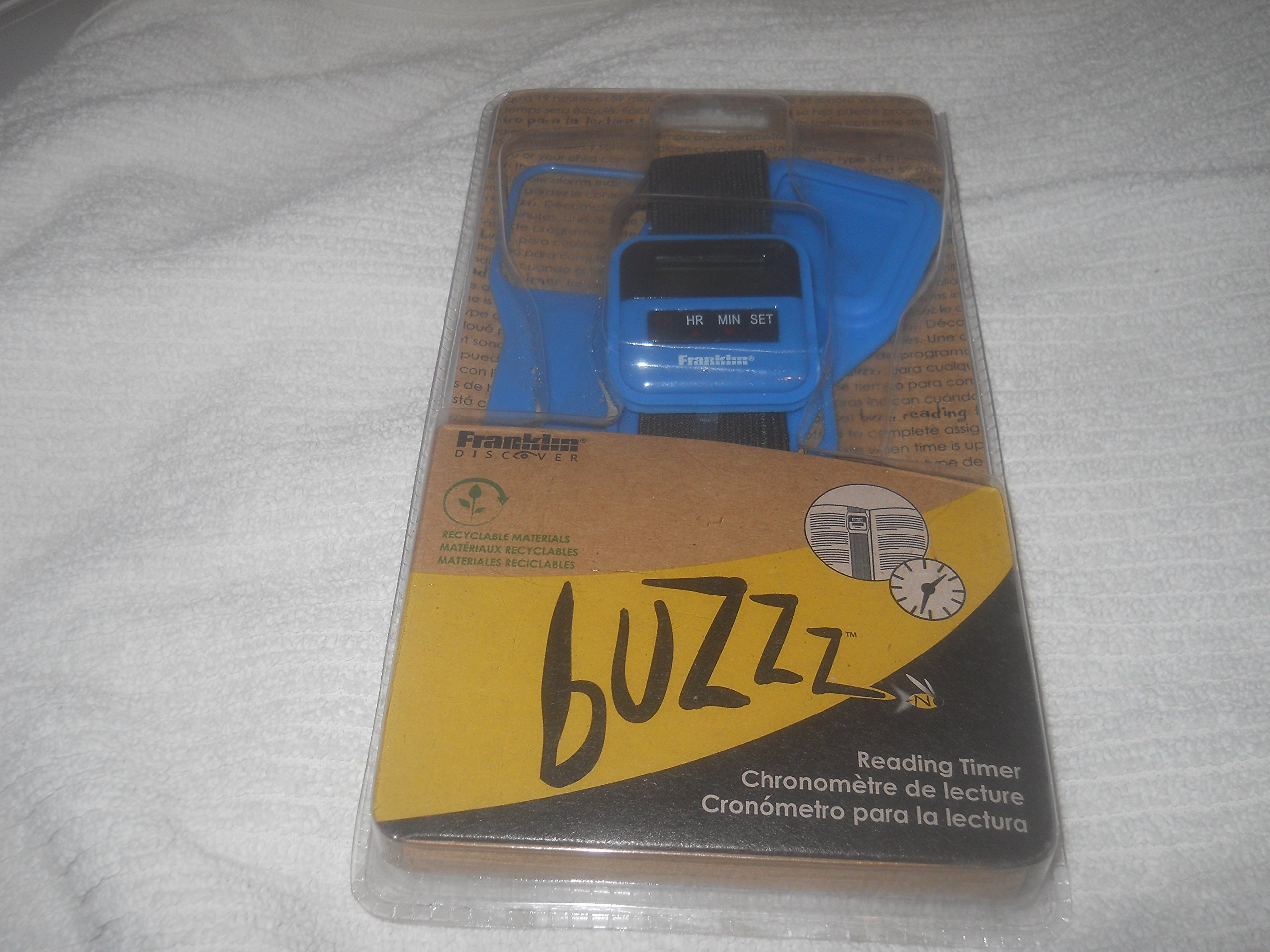 Buzzz Reading Timer Bundle: RTB-2000 [With Book Band ...