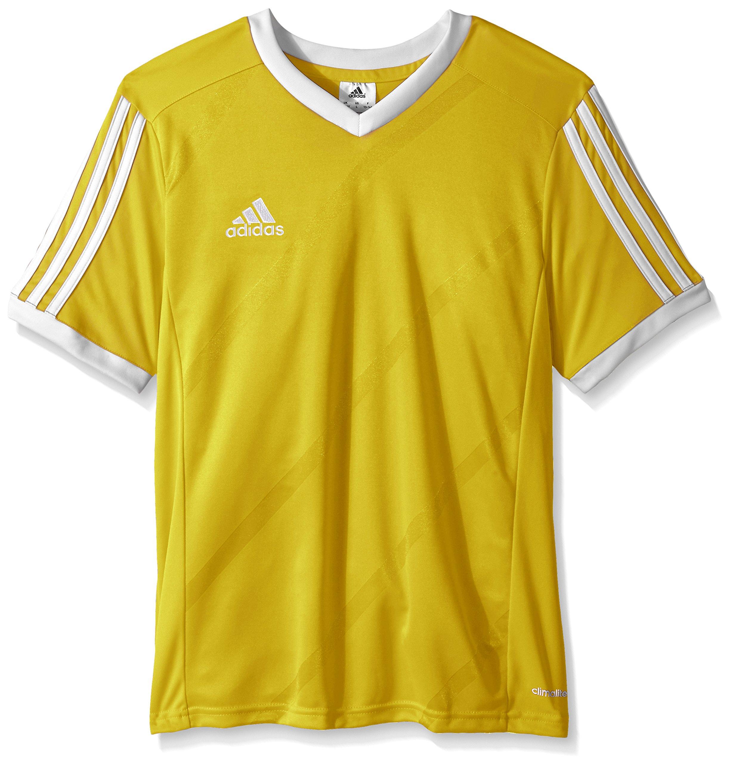 Galleon - Adidas Performance Boys Youth Tabela 14 Short Sleeve Jersey e4323c94e