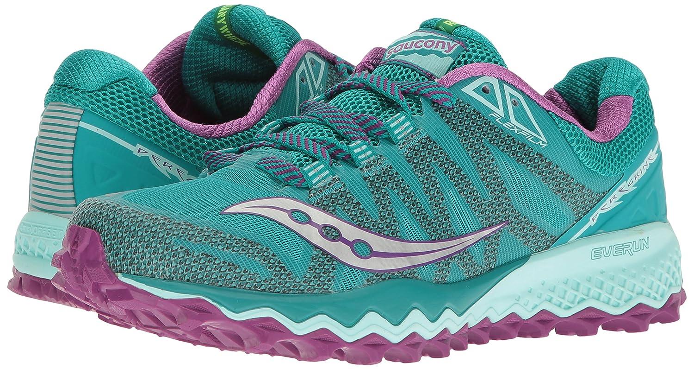 Saucony Shoe Women's Peregrine 7 Trail Running Shoe Saucony B01GJYD2HS 5.5 B(M) US|Teal/Purple/Citron 68b325