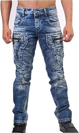 Cipo   Baxx C-1178 Straight Fit Jeans (W32 32L, Blau)  Amazon.de ... 035fb15e02
